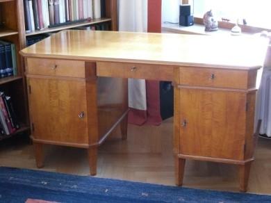 Kirsche- Schreibtisch vorher